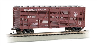18512 HO Bachmann  40' Stock Car-Baltimore & Ohio