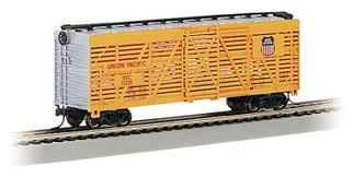 18501 HO Bachmann 40' Stock Car-Union Pacific(R)