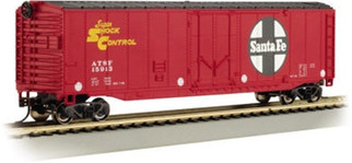 18002 Bachmann HO 50' Plug-Door Box Car Santa Fe