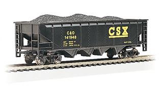 17618 HO Bachmann 40' Quad Hopper-CSX