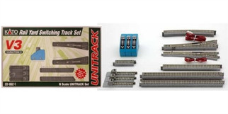 20-862-1 N Scale  KATO Rail Yard Switching Track Set
