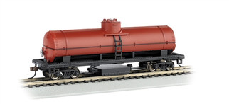 16303 HO Bachmann Track Cleaning Tank Car-Unlettered Red Oxide