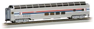 13005 Bachmann HO 85' Budd Full-Dome Passenger Car Amtrak Phase I