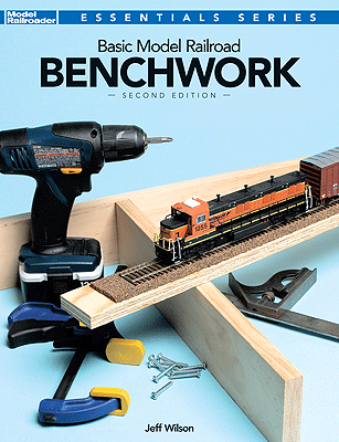 12469 Kalmbach Basic Model Railroad Benchwork Second Edition