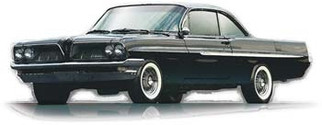 1211M Moebius 1961 Pontiac Ventura 1/25 Scale Plastic Model KIt