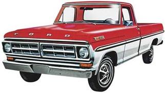1208 Moebius 1971 Ford Ranger XLT 1/25 Scale Plastic Model Kit