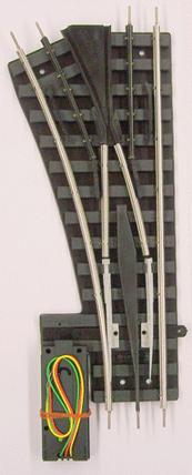 "114-RC Gargraves O LH O-42 ""Phantom"" Remote Control Switch w/Tinplated outside rails"