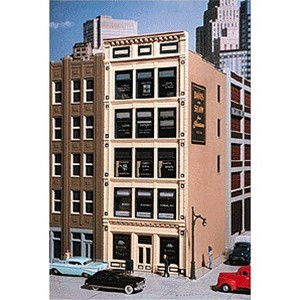 102 HO City Classics 102 Penn Ave. Tile Front Building Kit