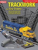 108365 Kalmbach Books Trackwork for Toy Trains