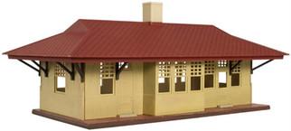 0718 HO Atlas Trainman Branch Line Station Kit