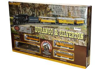 00710 Bachmann HO Durango & Silverton RTR Passenger Train set