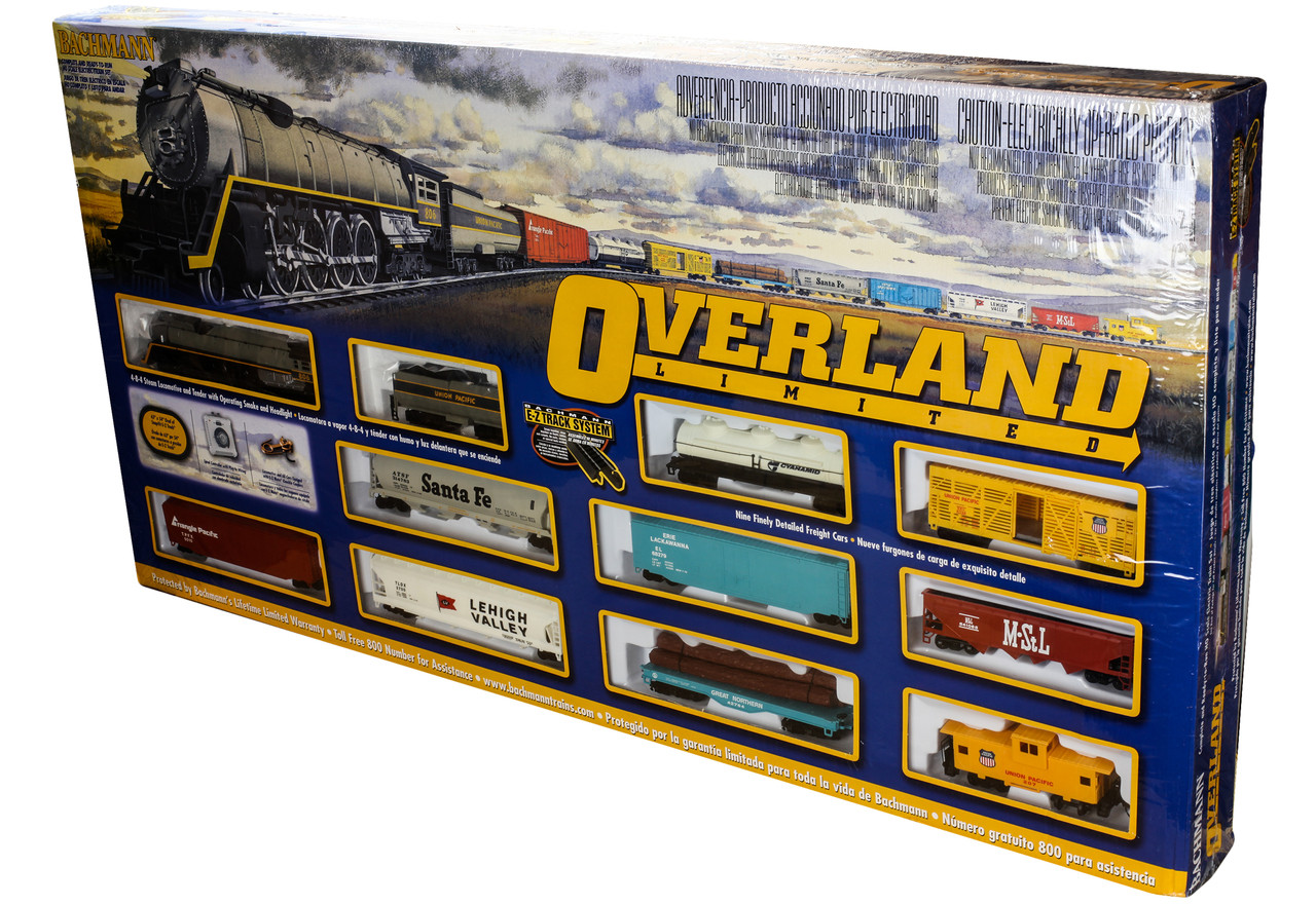 00614 Bachmann HO Overland Limited Train Set-UP