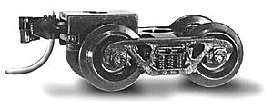 00310041 N Scale Micro-Trains Barber Roller Bearing Trucks (10 Pair Bulk Pack)