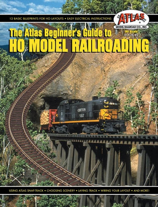 0009 Atlas Beginners Guide Book to HO Model Railroading