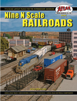 0007 Atlas Nine N Scale Railroads Book