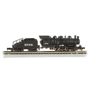 50566 N Scale Bachmann USRA 0-6-0 Switcher & Tender ATSF #2039