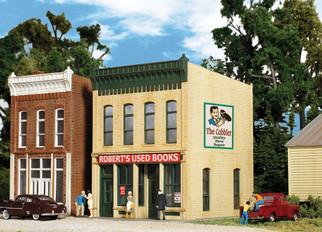 933-3659 HO Scale Walthers Cornerstone Roberts Used Books Kit