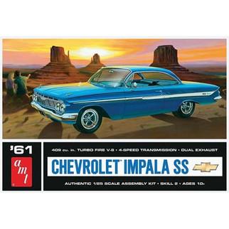 AMT1013 AMT '61 Chevrolet Impala SS 1/25 Scale Plastic Model Kit