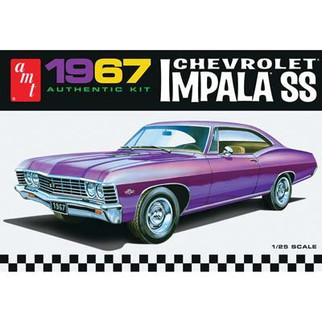 AMT981 AMT 1967 Chevrolet Impala SS 1/25 Scale Plastic Model Kit