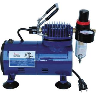 D500SR Paasche compressor w/regulator