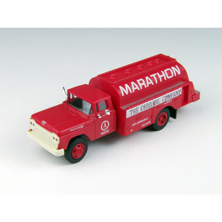 30455 HO Scale Classic Metal Works '60 Ford Tank Truck Marathon Oil