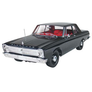 1218 Moebius 1965 Plymouth Belvedere 1/25 Scale Plastic Model Kit