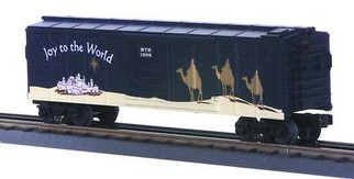 30-7426 O Scale MTH RailKing 1998 Holiday Box Car(TC)