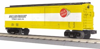 30-74873 O Scale MTH RailKing Box Car-Timken