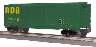 30-74859 O Scale MTH RailKing 40' Double Door Box Car-Reading