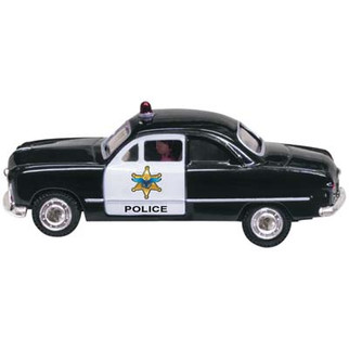 JP5593 HO Scale Woodland Scenics Police Car (Just Plug Vehicle)