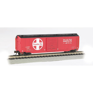 19454 N Scale Bachmann 50' Sliding Door Box Car-Santa Fe
