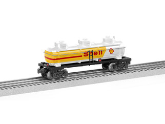 6-83243 O Scale Lionel Shell 3-Dome Tank