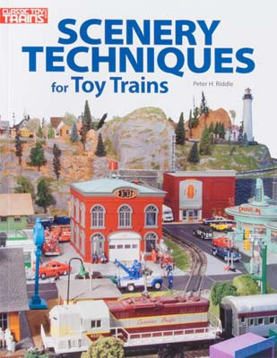 108400 Kalmbach Books Scenery Techniques for Toy Trains