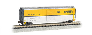 19456 N Scale Bachmann  50' Sliding Door Box Car Rio Grande