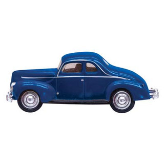 JP5598 HO Scale Woodland Scenics Blue Coupe Just Plug Lighting System Vehicle