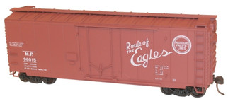 3121 HO Scale Accurail 40' Plug Door Boxcar Kit-Missouri Pacific