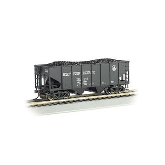 19509 HO Scale Bachmann 55 Ton 2-Bay USRA  Outside Braced Hopper w/Load-B&O