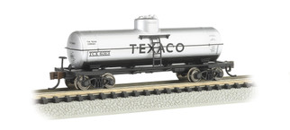 17854 N Scale Bachmann Single Dome Tank Car-Texaco