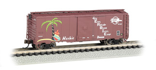 "17060 N Scale Bachmann 40' Box Car Missouri Pacific ""Herbie"""