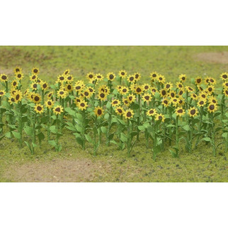 "95523 HO Scale JTT Scenery Sunflowers 1"" Tall 16/pk"
