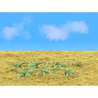 """95534 O Scale JTT Scenery Ferns 1"""" Wide 9/pk"""