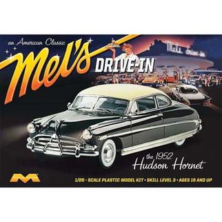 1216 Moebius '52 Hudson Hornet Mel's Drive-In 1/25 Scale Plastic Model Kit