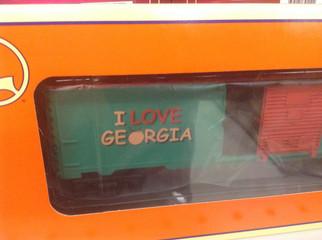 6-19985 O Scale Lionel 9700 Box Car I Love Georgia
