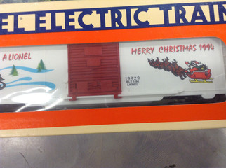 6-19929 O Scale Lionel Christmas Box Car