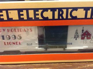 6-19938 O Scale Lionel Christmas Box Car 1995