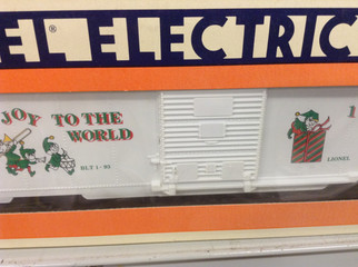 6-19922 O Scale Lionel 1993 Christmas Box Car