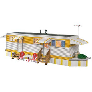 BR5863 O Scale Woodland Scenics Sunny Days Trailer
