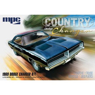 MPC878 MPC 1969 Dodge Charger R/T Country Dodge Charger 1/25 Scale Plastic Model Kit