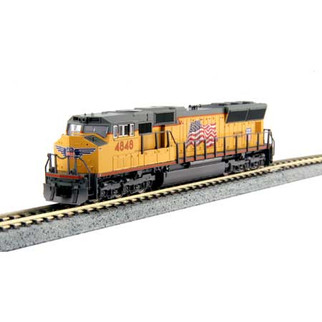 176-8610DCC N Scale KATO SD70M Locomotive-Union Pacific #4848