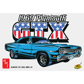 AMT1065 AMT Dirty Donny's 1969 Plymouth GTX 1/25 Scale Plastic Model Kit